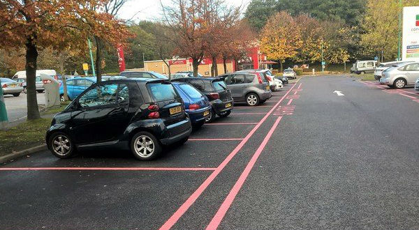 Laserline Road Marking Car Park Marking