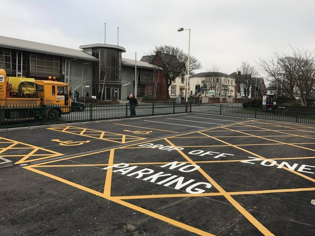 Laserline Road Marking Recent Projects