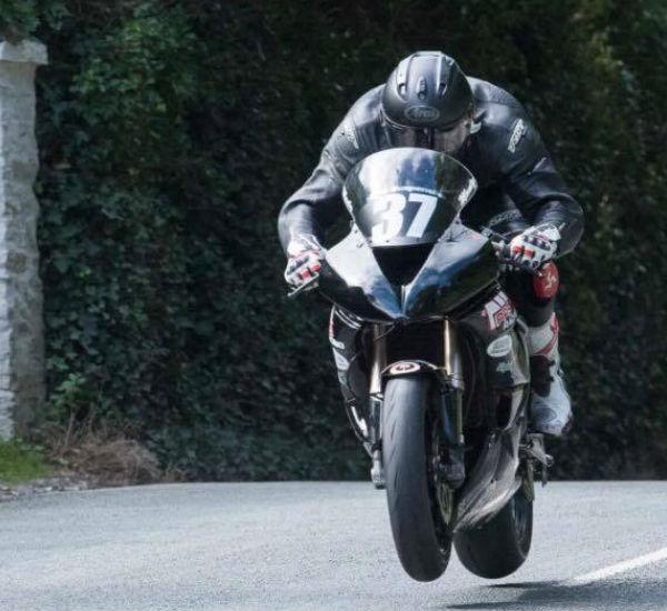 Laserline Road Marking Sponsoring local motorcycle racer Sean Montgomery