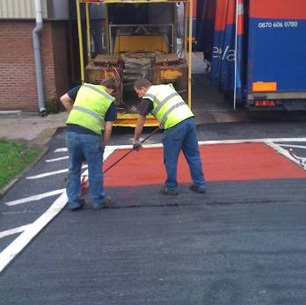 Laserline Road Marking Anti-skid Surfacing